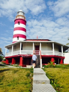 Hopetown is best known for its iconic lighthouse which dominates the harbor.  More on the lighthouse later...