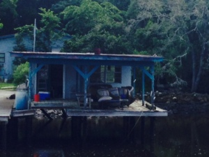 A cabin on the water in the Low Country -