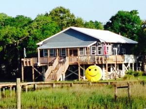 A happy house -