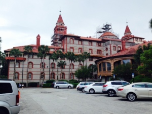 The Ponce de Leon Hotel was the first of the luxury hotels built in St. Augustine by Henry Flagler in 1888, costing $2.5 million. He hired an inventer named Thomas Edison to bring electricity into the hotel.