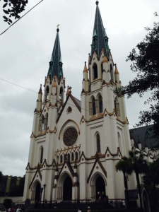 The Cathedral of St. John the Baptist, in the Historic District