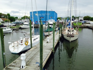 Swan Point Marina - this is all there is -