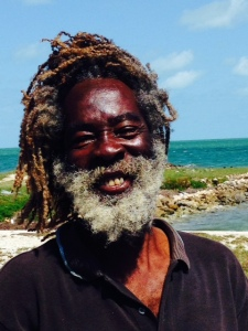 This is probably my favorite picture from the entire trip.  In many of the rural villages in the Bahamas, there is a woman who bakes and sells fresh bread. I went looking for her and asked this guy if he knew where she lived.  After he gave me directions, we exchanged  compliments on each other's beards and chatted for about 20 minutes. Although I could only understand about every other word due to his thick Creole accent, his smile reflects his totally joyful personality.  We saw each other several times during our visit, and we always stopped to chat.