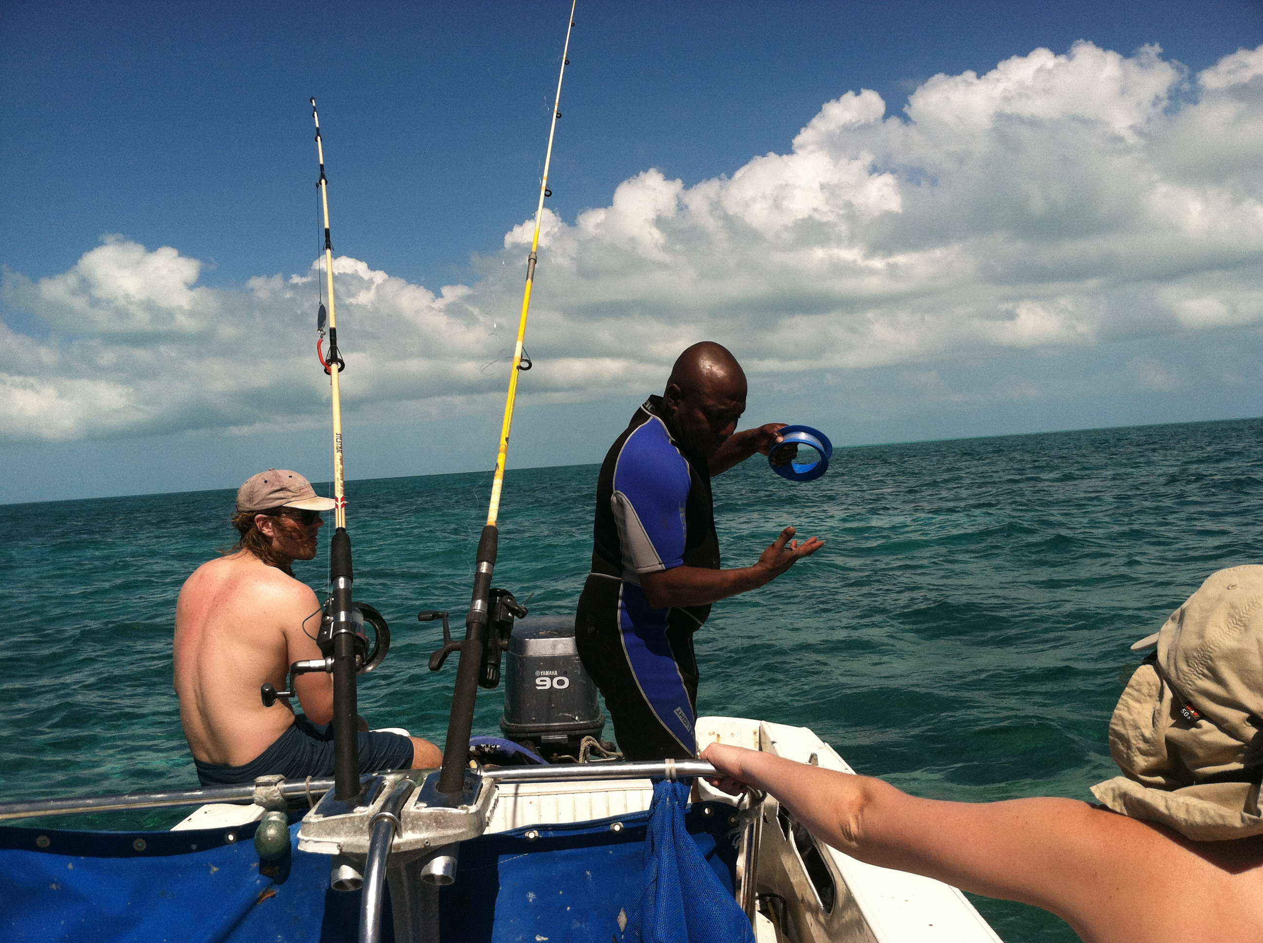 The bahamas great loop adventure for Hand line fishing