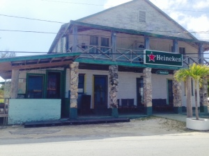 Located in the West End Village, this is the oldest hotel in the Bahamas.  Today only the bar is open, and that seems to be only occasionally.