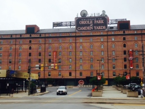 One of the classic ballparks is Camden Yards in Baltimore, home to the Orioles. This iconic part of the park dates from the 1700's, but the stadium itself was built in the 1980's. However, it was designed in the style of the original ballparks like Fenway Park in Boston and Wrigley Field in Chicago, and therefore has real character.