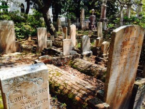 An ancient cemetery containing the remains of soldiers from both the Revolutionary and Civil Wars.