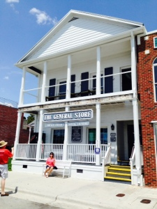 The General Store along the Beaufort waterfront