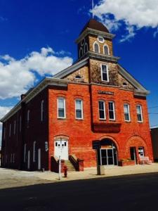 Belhaven City Hall, a beautiful, 19th century brick building