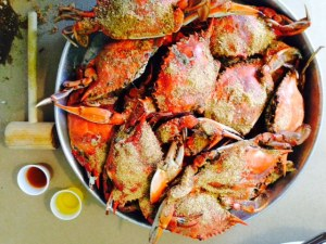 No trip to the Chesapeake would be complete without a meal of hard-shell crabs - all you can eat for $29, but you'd better have time and patience, as each crab doesn't yield a great deal of meat. Oh, but so good!