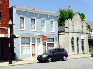 Historic buildings in the downtown area -