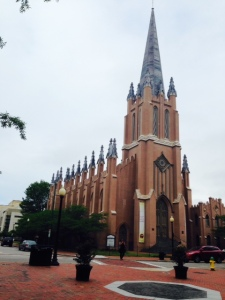 An spectacular church in the historic district of Norfolk
