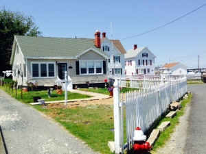 While most of the houses on the island are more modest, this is the oldest house in Tangier Island