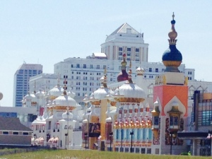 The Taj Mahal in Atlantic City -