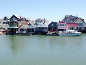 An image from Cape May Harbor, as seen from the bridge of the Joint Adventure