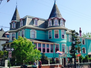 The next series of pictures are of some of the incredible 19th century homes of Cape May - no further commentary needed