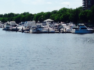Our home port and our permanent dockage on the Charles River!