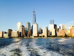 The new Freedom Tower dominates the NY skyline