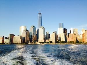 The new Freedom Tower dominates the NY skyline
